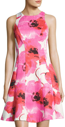 Maggy London Poppy Fit-and-Flare Dress, Red/White $89 thestylecure.com