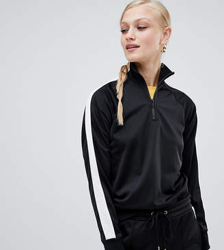 Monki Co-Ord Zipped Sweatshirt