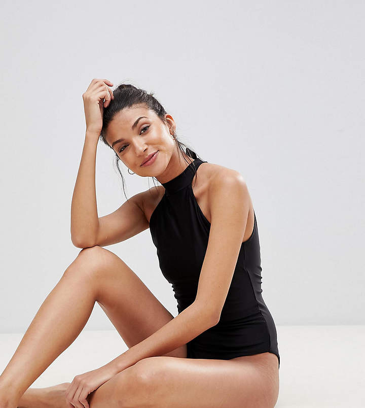 Y.A.S Tall High Neck Swimsuit