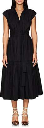 Proenza Schouler Women's Cotton Poplin Peasant Dress