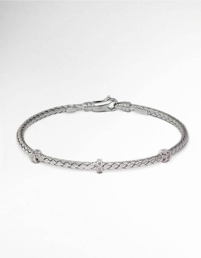 EFFY COLLECTION Sterling Silver Bracelet with Diamond Accents