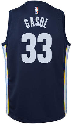 Nike Marc Gasol Memphis Grizzlies Icon Swingman Jersey, Big Boys (8-20)