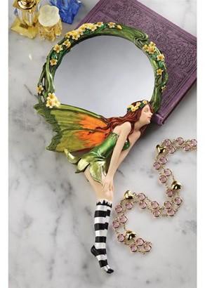 Toscano Design Lochloy House Fairy Hand Mirror