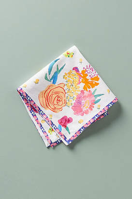 Anthropologie Paint + Petals Napkin