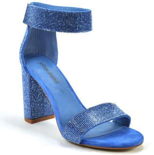 Jeffrey Campbell Lindsay JS - Glitter Heel Sandal