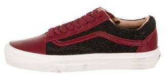 Vans Leather & Wool Old Skool California Low-Top Sneakers