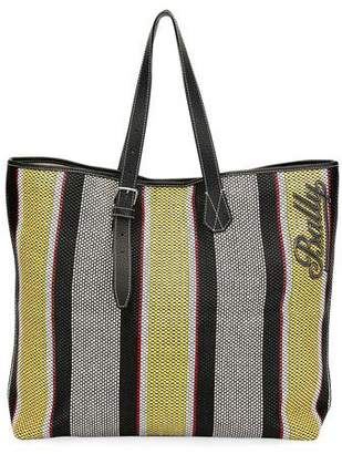 Bally Men's Phoenix Striped Tote Bag