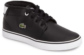 Boy's Lacoste Ampthill High Top Sneaker $54.95 thestylecure.com