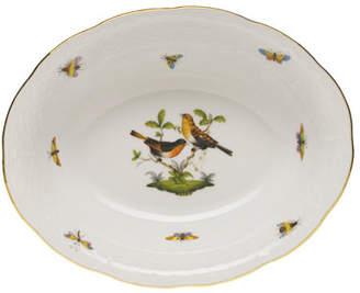 Herend Rothschild Bird Open Vegetable Dish
