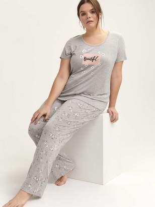 Straight Leg Pajama Pant - Deesse Collection 02baca165