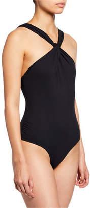 Marysia Swim South Fork Twisted One-Piece Swimsuit