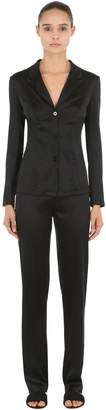 La Perla Silk Satin Pajama Shirt & Pants