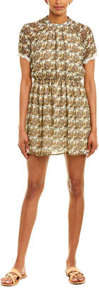 Paper Crane Paisley Mini Dress