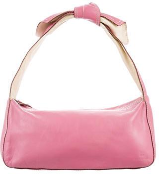 Kate SpadeKate Spade New York Knot-Embellished Leather Shoulder Bag