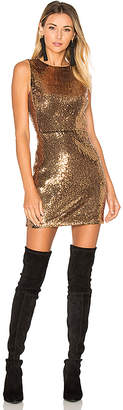 ale by alessandra x REVOLVE Lorena Dress in Metallic Gold $240 thestylecure.com