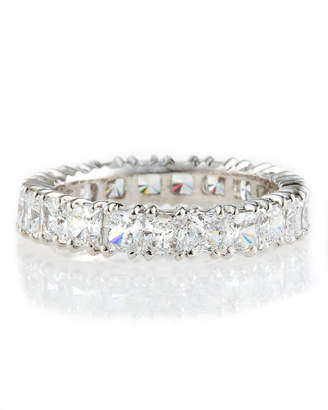 Fantasia by DeSerio Cubic Zirconia Eternity Band Ring $400 thestylecure.com