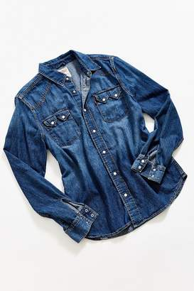 Levi's Vintage Levi's Dark Wash Denim Western Shirt