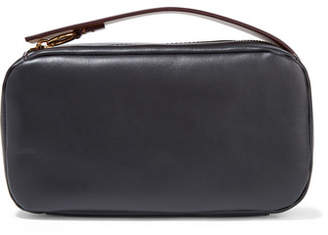 Marni Two-tone Leather Clutch - Black