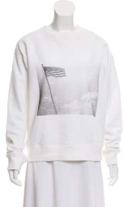 Calvin Klein x Andy Warhol Graphic Print Long Sleeve Sweatshirt