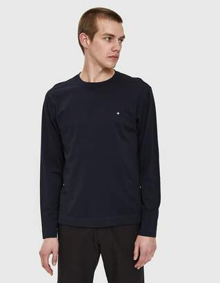 Stone Island Compass T-Shirt in Navy Blue