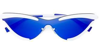 Le Specs x Adam Selman The Scandal mirrored sunglasses