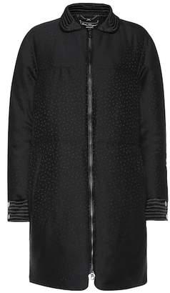 Salvatore Ferragamo Textured wool and silk coat