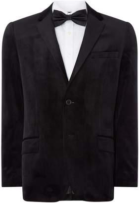 Howick Men's Tailored Brookvale Velvet Evening Blazer