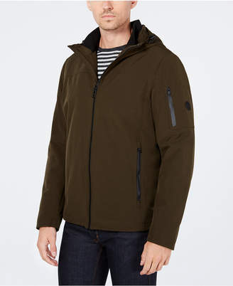 Calvin Klein Men Soft Shell Jacket with Fleece Lining