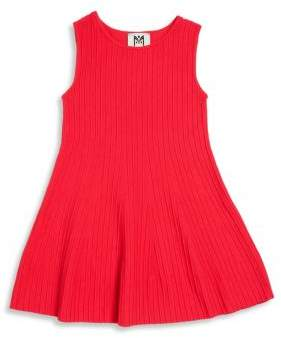 Milly Minis Girl's Ottoman Fit & Flare Dress