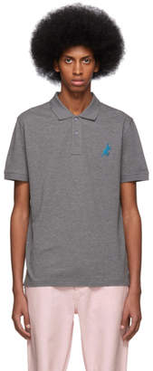 Paul Smith Grey Dino Regular Fit Polo