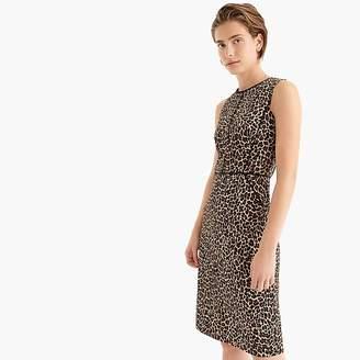 J.Crew Sheath dress in leopard print