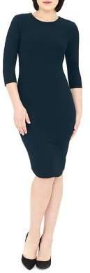 Gravitas Jeannette Three-Quarter Sleeve Dress
