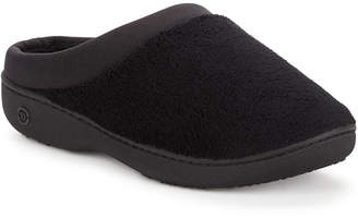 Isotoner Signature Microterry Pillowstep Slipper with Satin Trim