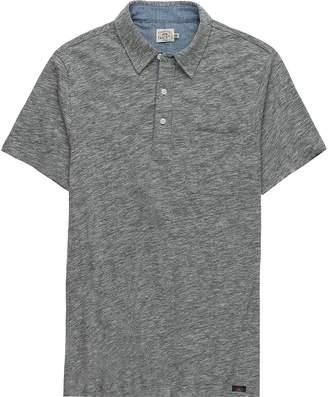 Faherty Heather Polo Shirt - Men's