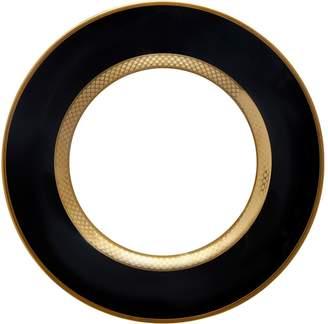 Roberto Cavalli Home Python Black Dessert Plate (21cm)