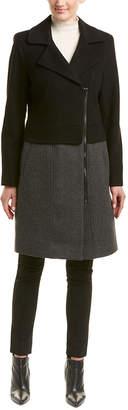 Trina Turk Trina Trina By Brooklyn Wool-Blend Coat