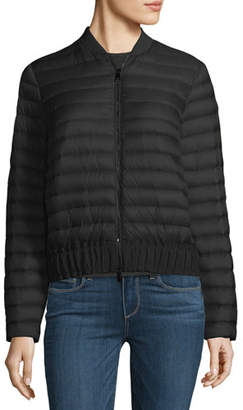 Moncler Barytine Quilted Bomber Jacket