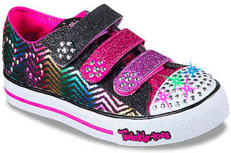 Skechers Twinkle Toes Sparkle Spice Toddler & Youth Light-Up Sneaker - Girl's