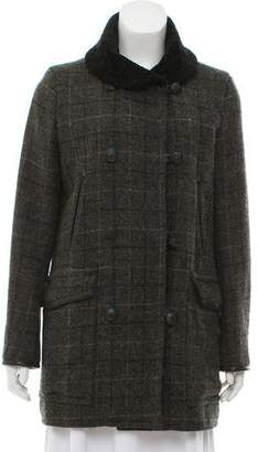 Rag & Bone Check Wool Coat