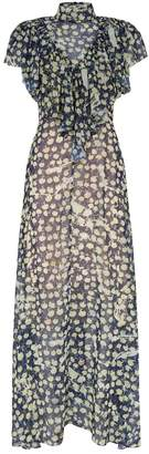 Preen Emily Ruffled Floral Dress