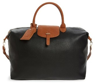 Sole Society Joliie Travel Tote - Black $79.95 thestylecure.com