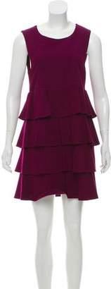 Theory Ruffled Sleeveless Dress