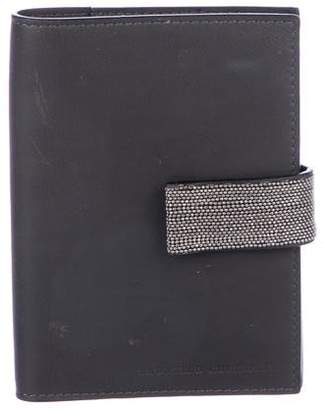 Brunello Cucinelli Monili-Embellished Passport Case
