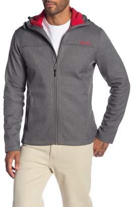 Bench Soft Shell Fleece Lined Zip-Up Hoodie