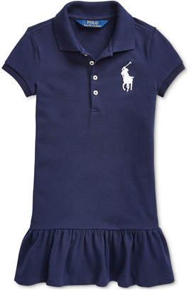 Polo Ralph Lauren Toddler Girls Short-Sleeve Big Pony Dress