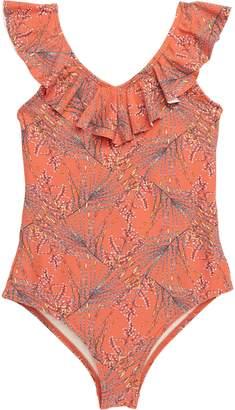 26eee6df26b2 O'Neill Prism Ruffle One-Piece Swimsuit