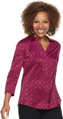 Dana Buchman Women's Jacquard Shirt