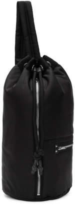 McQ Black Loveless Gym Backpack