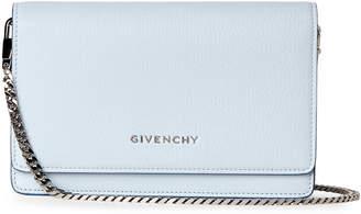 Givenchy Baby Blue Small Pandora Wallet Crossbody