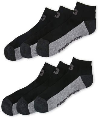 334aeddc96a0f7 Converse 6-Pack Black Logo Low-Cut Socks